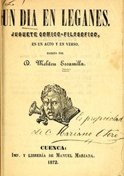 Cover of: Un día en Leganés