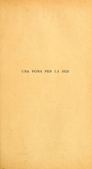 Cover of: Una poma per la sed