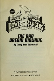 Cover of: The bad dream machine
