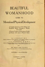 Cover of: Beautiful womanhood