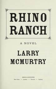 Cover of: Rhino ranch: a novel