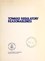 Toward regulatory reasonableness