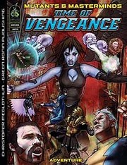 Cover of: Time of Vengeance by Christopher McGlothlin