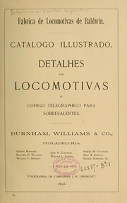 Cover of: Fabrica de locomotivas de Baldwin