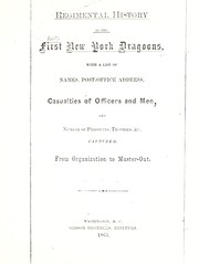 Regimental history of the First New York Dragoons by