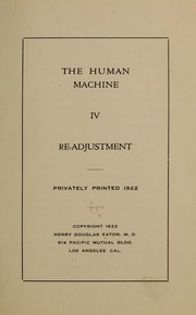 Cover of: The human machine...