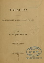 Cover of: Tobacco