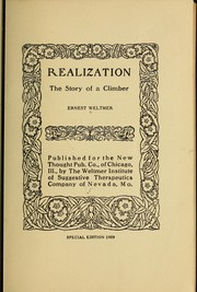 Cover of: Realization