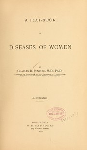 Cover of: A text-book of diseases of women