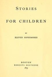 Cover of: Stories for children
