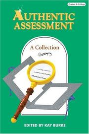 Cover of: Authentic assessment |