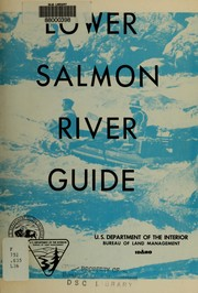 Lower Salmon River guide by United States. Bureau of Land Management.