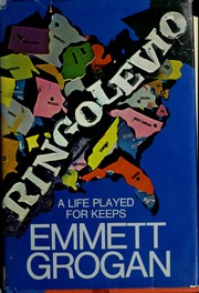 Cover of: Ringolevio | Emmett Grogan