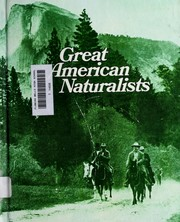 Cover of: Great American naturalists. | Ruth Allison Coates