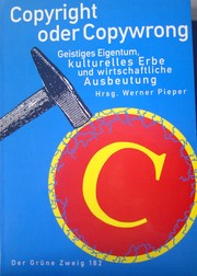 Cover of: Copyright oder Copywrong