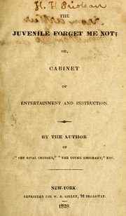 Cover of: The juvenile forget me not
