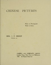 Cover of: Chinese pictures