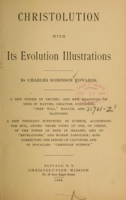 Cover of: Christolution with its evolution illustrations