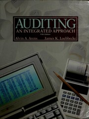 Cover of: Auditing, an integrated approach | Alvin A. Arens