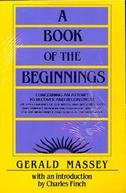 Cover of: A Book of the Beginnings- 2 volume set