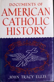 Cover of: Documents of American Catholic history