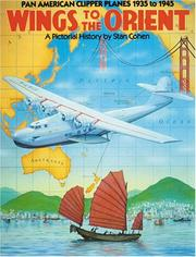 Cover of: Wings to the Orient | Stan Cohen