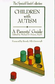 Cover of: Children with autism by