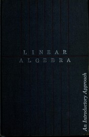 Cover of: Linear algebra | Charles W. Curtis