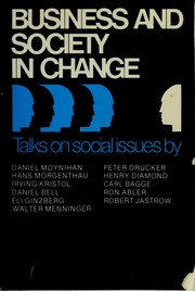 Cover of: Business and society in change |