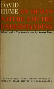 Cover of: On human nature and the understanding