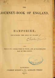 Cover of: Hampshire; including thr Isle of Wight ...