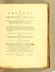 Cover of: The history of the American Indians