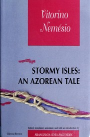 Cover of: STORMY ISLES: AN AZOREAN TALE -(EURO 15.66) | Vitorino Nemésio