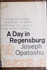 Cover of: A day in Regensburg