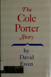 Cover of: The Cole Porter story