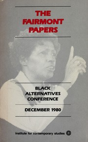 Cover of: The Fairmont Papers | Thomas Sowell