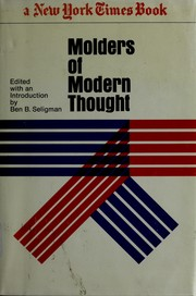 Cover of: Molders of modern thought | Ben B. Seligman