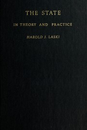 Cover of: The state in theory and practice