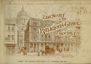 Cover of: The story of the Religious Tract Society