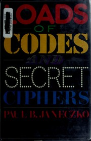 Loads of codes and secret ciphers by Paul B. Janeczko