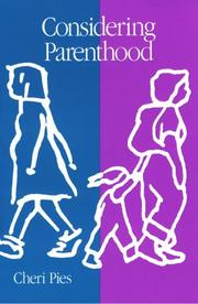 Cover of: Considering parenthood | Cheri Pies