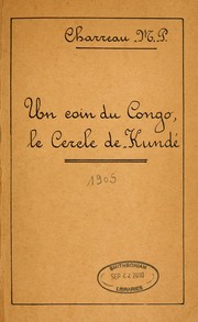 Cover of: Un coin du Congo