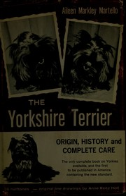 Cover of: The Yorkshire terrier