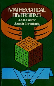 Cover of: Mathematical diversions