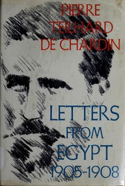 Cover of: Letters from Egypt, 1905-1908