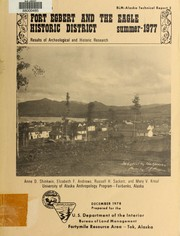 Cover of: Fort Egbert and the Eagle historic district