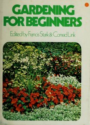 Cover of: Gardening for beginners