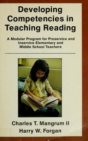 Developing competencies in teaching reading by Charles T. Mangrum