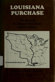 Cover of: Louisiana Purchase. | Donald Barr Chidsey