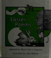 Cover of: Easter poems